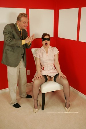 Blindfolded Mom Porn