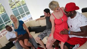 Interracial Mom Porn