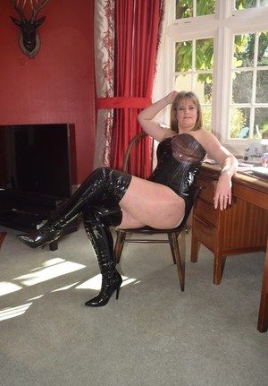 Mom In Boots Porn